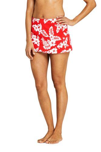 MiniJupe de Bain Imprimée avec Maillot Intégré, Femme Stature Standard