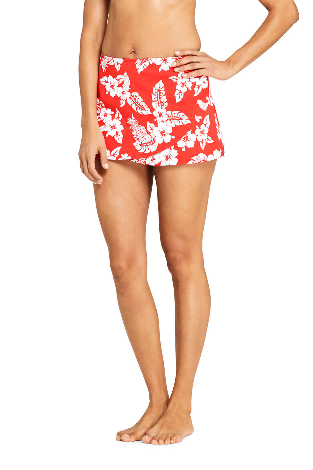 9df1daa775 Women's Tulip Hem Mini SwimMini Swim Skirt Print from Lands' End