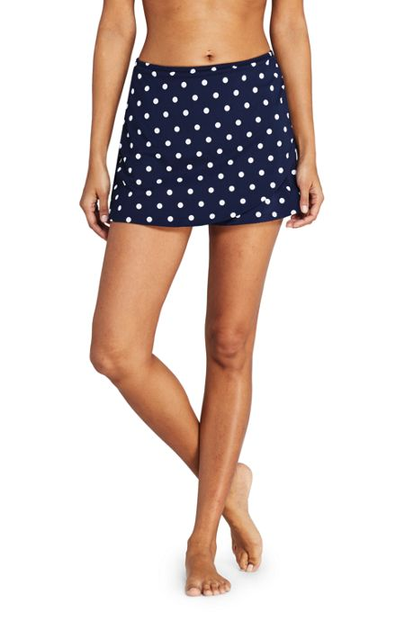 Women's Tulip Hem Mini SwimMini Swim Skirt Print
