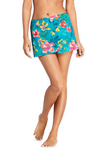 Women's Tulip Hem Mini SwimMini Swim Skirt Print, Front