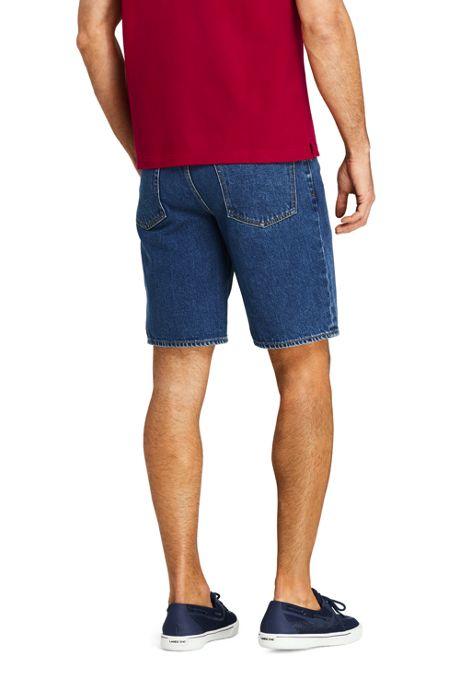 Men's 10 Inch Comfort Waist Jean Shorts