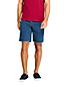 Men's Denim Shorts with Comfort Waist