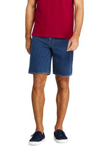 Bermuda en Jean Taille Confort, Homme Stature Standard