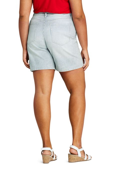 Women's Plus Size High Rise 5 Pocket 7