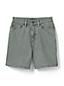 Taillenhohe farbige Jeans-Shorts für Damen