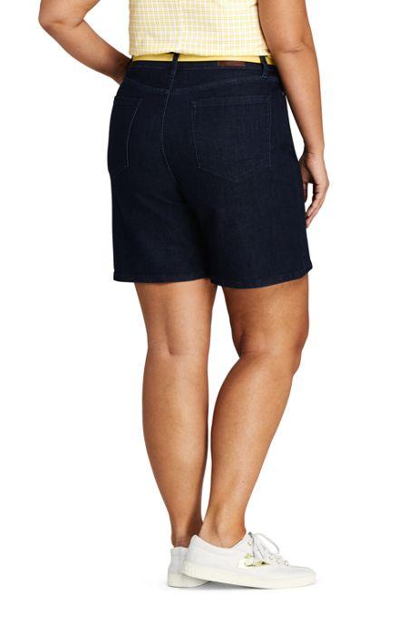 Women's Plus Size High Rise 5 Pocket 7