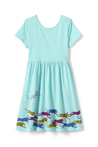 Little Girls Fit and Flare Dress