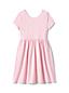 Ausgestelltes Kleid mit Muster für kleine Mädchen