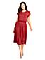 Robe Imprimée en Jersey Taille Smocks, Femme Stature Standard