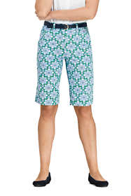"Women's Petite Chino 12"" Shorts - Print"