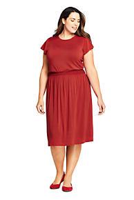 Womens Plus Size Jumpsuits A-line Dresses | Lands\' End