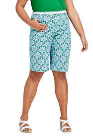 "Women's Plus Size Chino 12"" Shorts - Print"