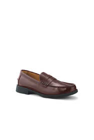 Men's Leather Slip On Penny Loafer Shoes