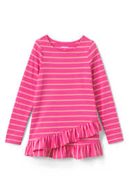 Toddler Girls Long Sleeve Pattern Tunic Top