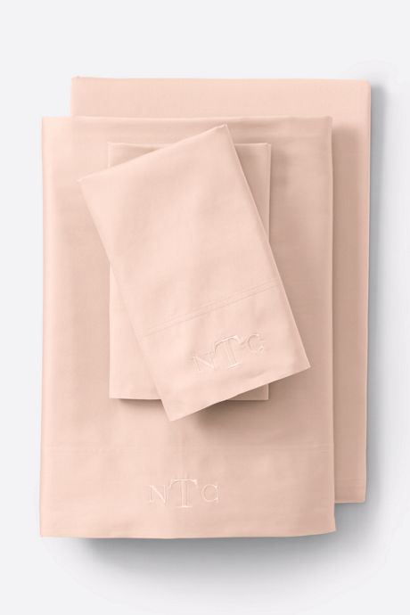300 Organic Sateen Solid Pillowcases
