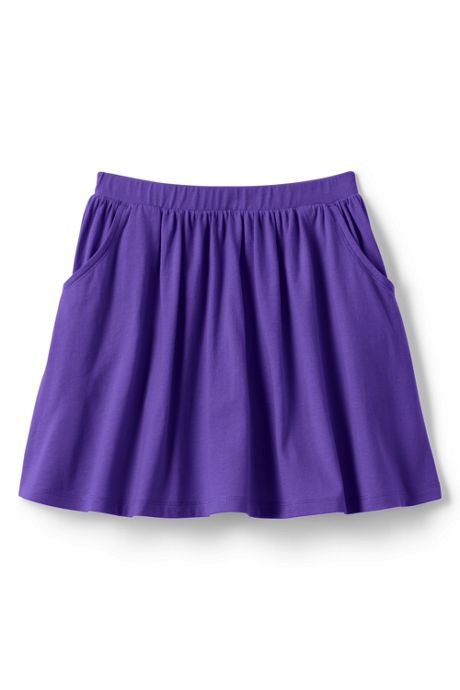 School Uniform Girls Plus Size Solid Skort