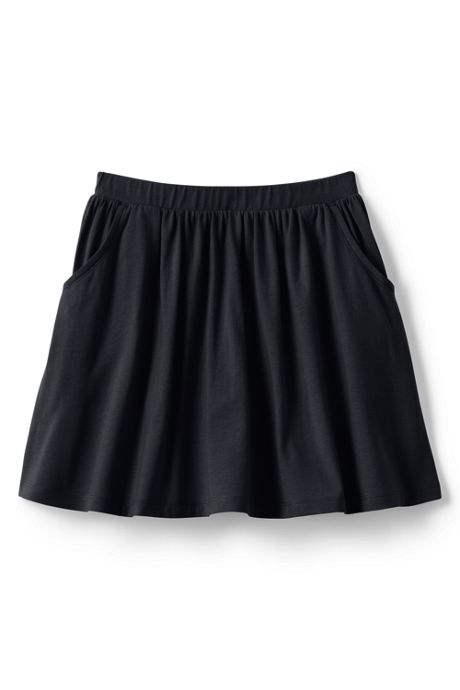 Little Girls Solid Skort