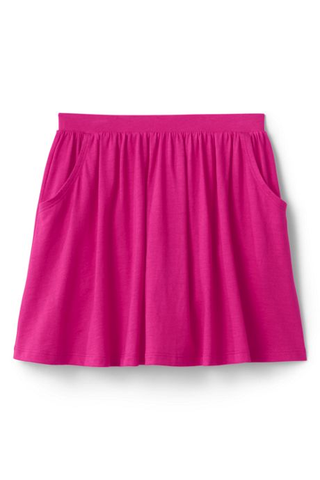 Girls Solid Skort