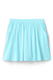 Girls Plus Size Solid Skort