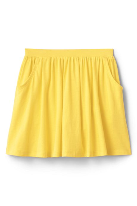 School Uniform Little Girls Solid Skort