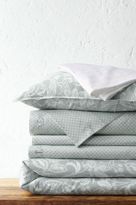300 Organic Sateen Printed Duvet Cover