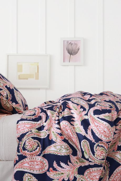 400 No Iron Paisley Duvet Cover