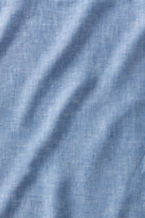 Garment Washed Chambray Linen Pillowcases, alternative image