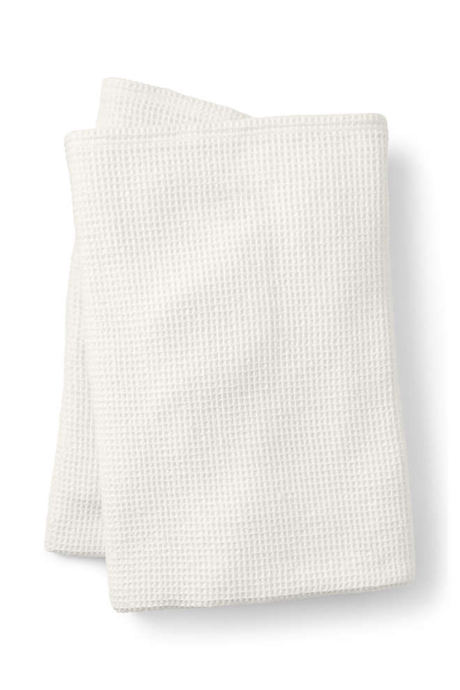 Cotton Waffle Blanket, Front