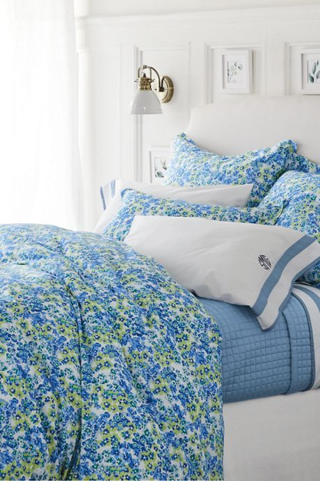 No Iron Floral Duvet Cover