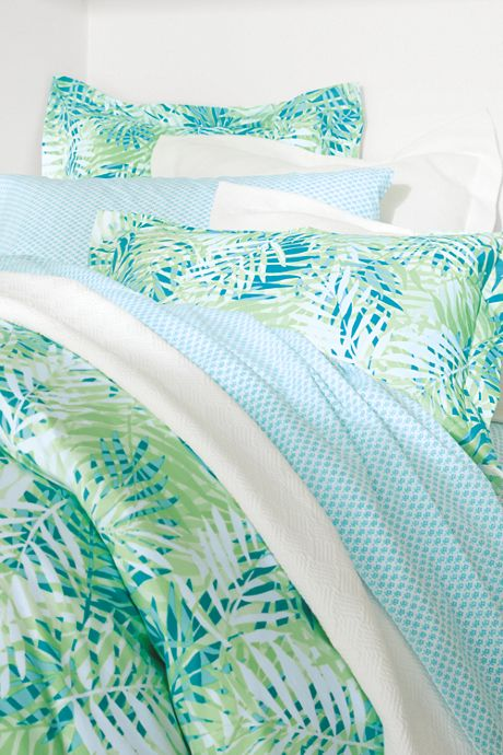 200 Percale Printed Duvet Cover