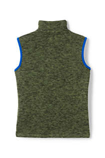 Boys Sweater Fleece Vest, Back