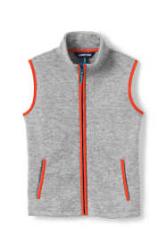Boys Space-Dye Fleece Vest