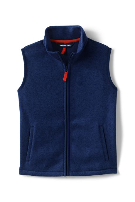 Little Boys Sweater Fleece Vest