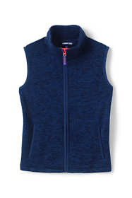 Little Boys Space-Dye Fleece Vest