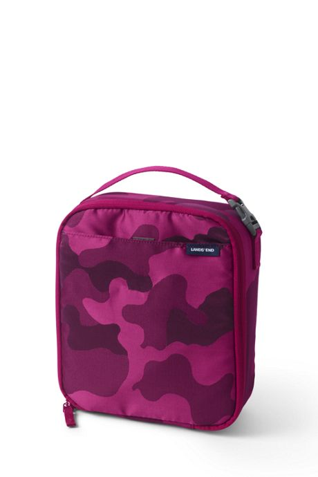 Kids Insulated EZ Wipe Textured Lunch Box