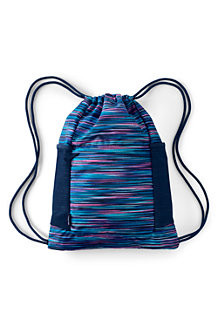 Kids' Packable Drawstring Bag, Print