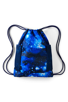 Kids' Packable Drawstring Bag, Print