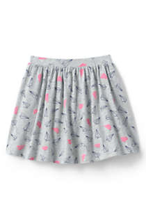 Girls Plus Size Pattern Skort, Back