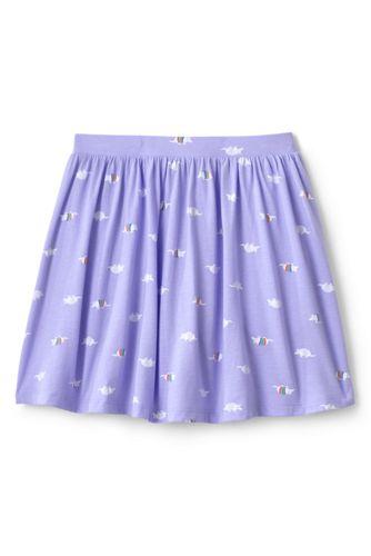 Girls Plus Size Pattern Skort