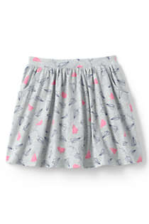 Girls Plus Size Pattern Skort, Front