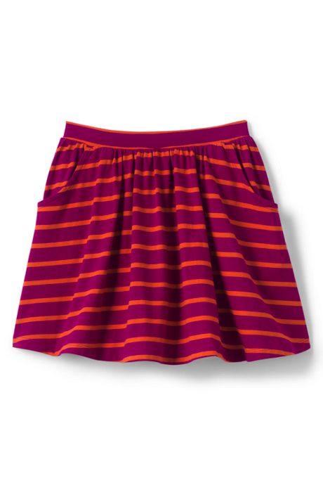 Little Girls Pattern Skort