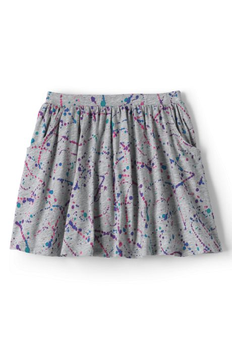 Toddler Girls Pattern Skort