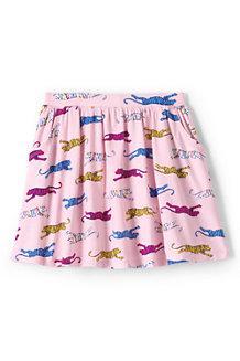 Girls' Patterned Jersey Skort