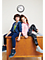 Gemusterte Iron Knees® Sweat-Jogginghose für große Kinder