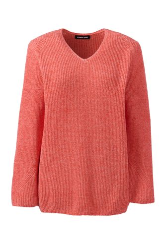 Women's Linen/Cotton Shaker Stitch Jumper
