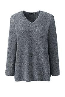 9868da286ce5 Women s Linen Cotton Shaker Stitch Jumper