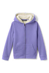 School Uniform Kids Sherpa Lined Zip Hoodie