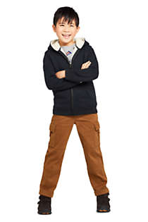 Toddler Kids Sherpa Lined Zip Hoodie, Unknown