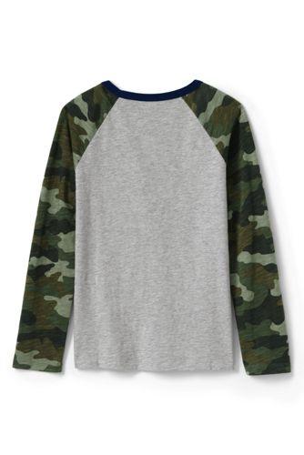 Boys Raglan Slub T Shirt