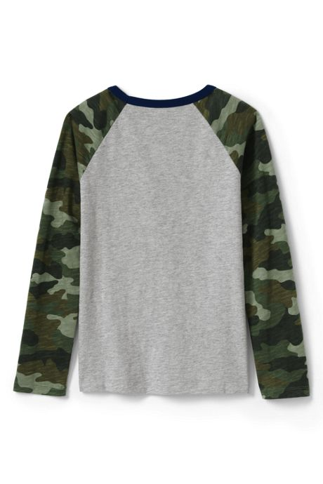 Little Boys Raglan Slub T Shirt
